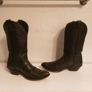 Laredo Cowboy Country Western Boots Size 8M